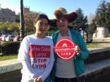 Tibetans in Rome support DorjeShugden.com
