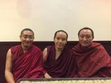 Geshe Kunsang, Kyabje Zawa Rinpoche & H.E. Serkong Tritul Rinpoche-Taiwan