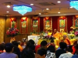 Kyabje Yongyal Rinpoche is currently in Geshe Tenzin Palchok's center in Hong Kong. Yesterday, Yongyal Rinpoche gave teachings on the ten preliminaries and initiation of Cittamani Tara. Apart from that, Yongyal Rinpoche gives regular teachings at the centre.