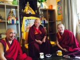 Ven. Achok Rinpoche arrives in Taiwan