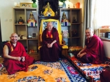 Ven. Achok Rinpoche arrived in Taiwan