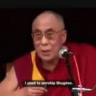 The Dalai Lama&#8217;s Advice Concerning Dorje Shugden