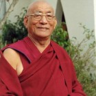Kensur Tamding Gyatso Rinpoche of Gaden Shartse Monastery
