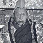 His Eminence Taktra Rinpoche (previous Regent of Tibet)