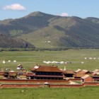 Monastery with Dorje Shugden in Mongolia