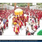 Official Opening of Shar Gaden Monastery, October 2009