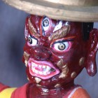 The Dorje Shugden Statue that was in Kopan Monastery, Nepal