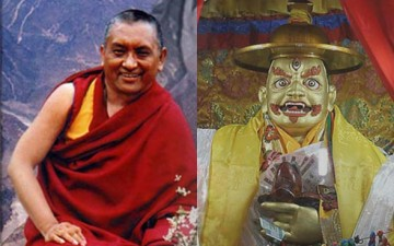 Who made Lama Zopa a Rinpoche?