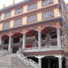 Monastery with Dorje Shugden in Nepal
