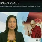 SBS Media Coverage : Dalai Lama Urges Peace