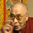 Interview with the Dalai Lama at Nottingham BBC
