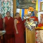 The Oracle Taking Trance of Dorje Shugden at the Official Opening of Shar Gaden Monastery in Oct 2009