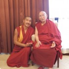 H.H. Gaden Trisur & Yongyal Rinpoche visiting in Chengdu, China