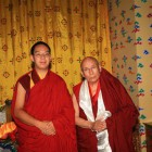 H.H. Gaden Trisur meets Panchen Rinpoche in Tibet 2011!