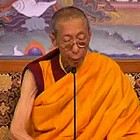 Ven' Geshe Kelsang Gyatso Talking about the Sadhana Quick Path to Great Bliss and Je Pabongka