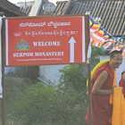 At the Opening of Serpom Monastery