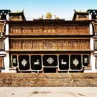 Trijang Rinpoche's Sampheling Monastery at Chatreng