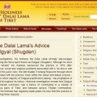 Dorje Shugden on DalaiLama.com: His Holiness the Dalai Lama's Advice Concerning Dolgyal (Shugden)