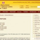 Dorje Shugden on DalaiLama.com: Historical References