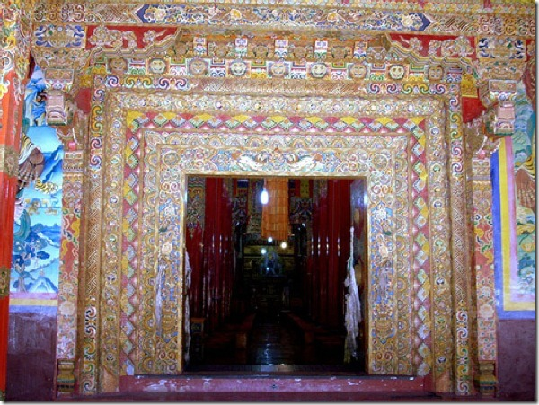 Entrance to Main Gompa