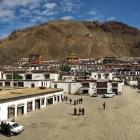 Magnificent Dorje Shugden Chapel in Tashi Lhunpo Monastery, Tibet