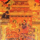 The Fifth Dalai Lama and Shunzhi Emperor of China