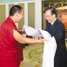 China Premier (Prime Minister) Wen Jiabao meets 11th Panchen Lama