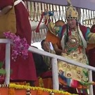 State Oracles of Tibet with the Dalai Lama in Bodhgaya 2012