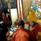 Oracle taking possession of Dorje Shugden in Ulan Bator, Mongolia