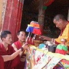 Zemey Rinpoche's Incarnation Receives DS initiation