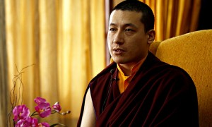"""""""I am shocked that Tibetans are taking such actions. I strongly feel this (self-immolations) should stop, this is definitely not a practice of Buddhism,"""" said Karmapa Gyalwa Karmapa Trinley Thaye Dorje in an interview to Hindustan Times. (HT Photo/Jasjeet Plaha)"""
