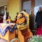 Current Trijang Chocktrul Rinpoche Conducts Dorje Shugden puja