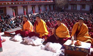 Dorje Shugden initiation given by Geshe Wangchuk at Markam, Chamdo, Tibet