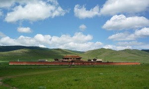 Amarbayasgalant Monastery in Mongolia
