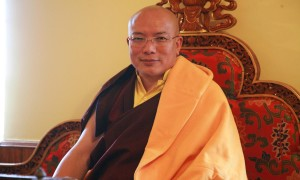 The 12th Tai Situpa, one of four regents of the Karma Kagyu school of Tibetan Buddhism
