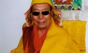 H.E. Denma Gongsar Rinpoche, a staunch practitioner of Dorje Shugden