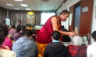 Lama Jampa Ngodrup Rinpoche giving Dorje Shugden and Amitayus initiations, Chengdu, March 2013