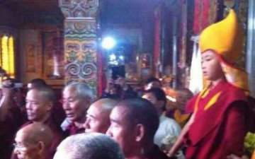 The Return Of A Great Master: H.E. Kyabje Denma Gonsar Rinpoche