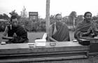 Postcard: Geshe Kelsang Gyatso and Lama Yeshe