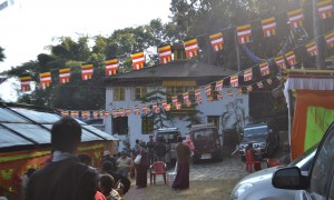 Domo Geshe Rinpoche's Monastery in Pedong, India