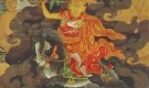 Dorje Shugden on a Black Horse