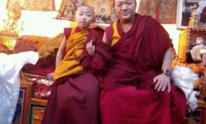Pabongka Rinpoche confers vows