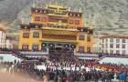 Ganden Dhamcholing Monastery in Markham, Tibet