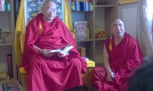 Kyabje Yongyal Rinpoche Gives Initiations