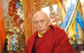 Man Evicted from Samdhong Rinpoche's Talk