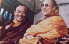 The 16th Karmapa, Ranjung Rigpe Dorje together with the 14th Dalai Lama