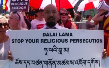 Why Protestors Say The Dalai Lama Is Lying