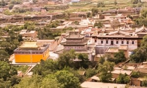Nyentog Tashi Dargyeling Monastery in Tibet