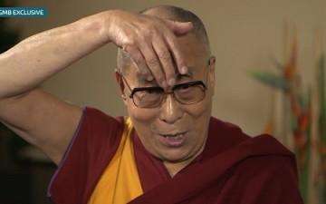 Dalai Lama Mocks Trump