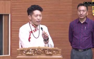 CUTS hero questions Tibetan Prime Minister